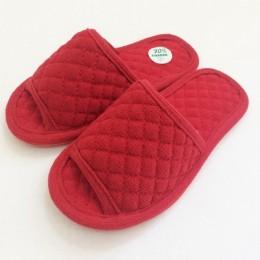 1104 Красные тапочки домашние