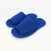1104 Синие тапочки домашние