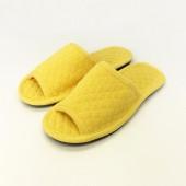 1104 Желтые тапочки домашние