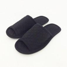 1104 Черные тапочки домашние
